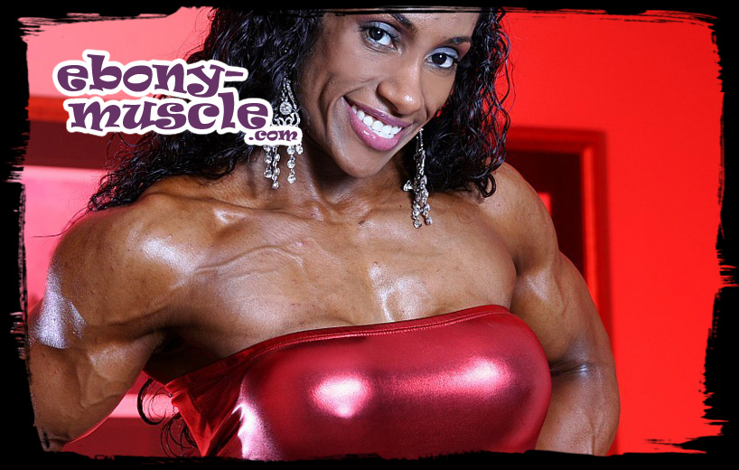 ebony-muscle.com - a showcase of the hottest black muscular ladies!