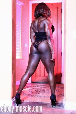 mistress treasure muscle Black